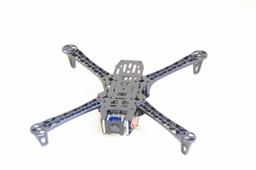 EMAX Aphid X450 FPV Quadcopter Aircraft Frame Kit with CCD Camera Lens-Fiber Glass