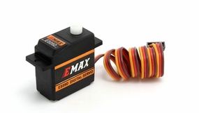 EMAX ES09D (dual-bearing) specific swash servo for 450 helicopters