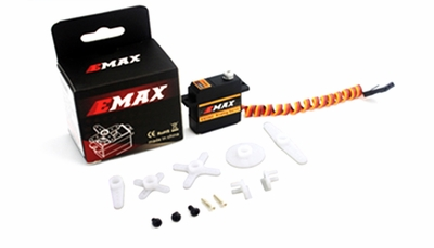 EMAX ES3302 Analog Metal Servo for Glider 12.4g