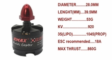 EMAX MT2213 920kv Brushless Motor for Multirotors
