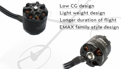 EMAX MT2216 810kv Brushless Motor for Multirotors (CCW Thread)