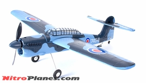 EP 35� Aerobatic Barracuda Scale Remote Control Plane KIT Airframe (Blue)