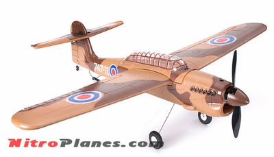 EP 35� Aerobatic Barracuda Scale Remote Control Plane KIT Airframe (Brown)