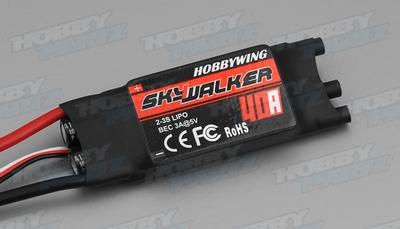 40A Brushless (Hobbywing) Speed Controllers