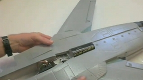 Exceed F-3 Fighter Jet Build Video by Jeff