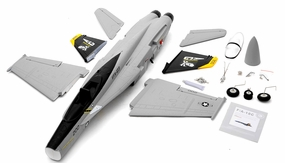 Exceed RC 4-CH 70mm  Angel F18C Radio Remote Control RC EDF Jet ARF (Grey)