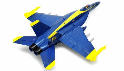 Exceed RC 4-CH 70mm Blue Angel F18 Radio Remote Control RC EDF Jet ARF RC Remote Control Radio
