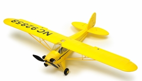 Exceed RC 4 Channel J3 Piper Cub Ready to Fly Super Scale Airplane RTF w/ Brushless Motor/ESC/Lipo (Yellow)