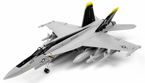 Exceed RC 9-CH 90MM F-18 Jolly Roger Extreme Scale Jet w/Brushless Motor/ESC ARF + 3D Thrust Vector RC Remote Control Radio