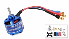 Exceed RC Brushless Motor 1100kv  13 Turn Rating for Airplanes