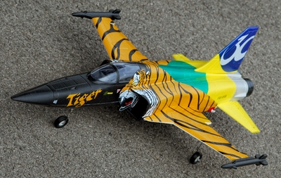 Exceed RC F-5E 64MM Ducted Fan Jet Swiss Tiger Version* Receiver-Ready Version *