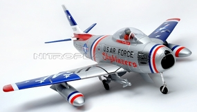 Exceed RC F-86 6 Channel Electric Remote Control 90MM High Performance Electric EDF Ducted Fan Airplane Kit