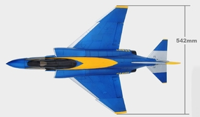 Exceed RC F4-E Replacement Parts (Blue)