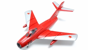 Exceed RC Mig-15 70MM Electric Ducted Fan Remote Control KIT Airframe w/ Fix Landing Gear (Red)