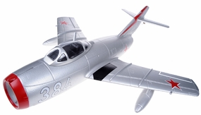 Exceed RC Mini 50MM MIG-15 High Performance Ducted Fan Jet Receiver-Ready w/ Brushless Motor/ESC (Silver ARF)