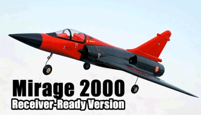 Exceed RC Mirage 2000 64MM EDF Jet * Receiver-Ready Version * RC Remote Control Radio