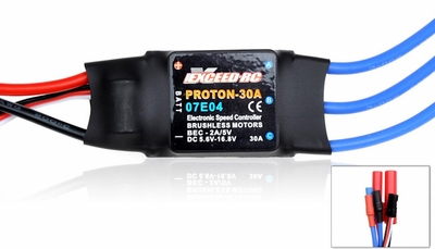 Exceed RC Proton/Volcano 30A Brushless ESC Speed Controller