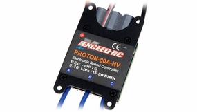 Exceed RC Proton/Volcano Series 80A Brushless Speed Controller ESC High Voltage