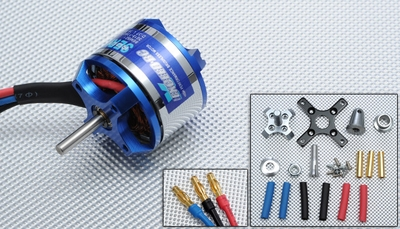 Exceed RC Rocket 3015-1640kv Brushless Motor for RC Plane