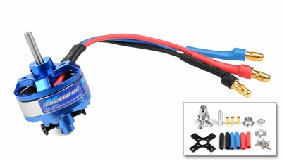 Exceed RC Rocket Brushless Motor 1400kv 22 Turn Rating
