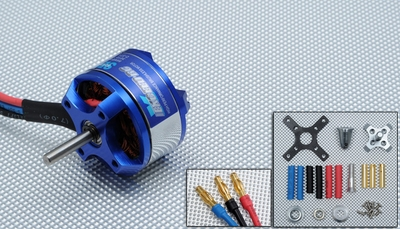 Exceed RC Rocket Brushless Out Runner Motor for Airplane (3010-1100KV)
