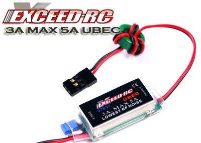 Exceed RC UBEC-3A (2-6S Lipo Input)