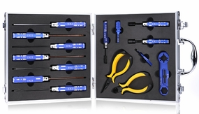 EXI 15pcs Tool Set Kit for Hobby Cars/Trucks/Buggies