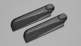 Tail Blade: EXI-600 Carbon Fiber Tail Blade for 600-Size RC Helicopter (92mm)