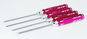 EXI Hex Wrench Set, 1.5mm 2.0mm 2.5mm 3.0mm (4)