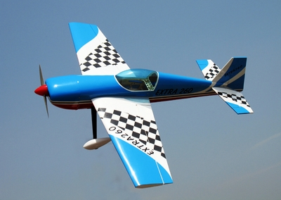 "EXTRA 260 50 - 53.5"" 3D Aerobatic Nitro Gas Powered Radio Remote Controlled RC Plane ARF"
