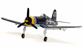 Extreme Detail Art-Tech F4U Corsair 3D Aerobatic Radio Remote Control Electric RC US Navy Warbird Airplane ARF w/ Brushless Motor RC Remote Control Radio