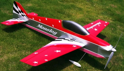 F3D Monolog 1200mm Acrobatic Remote Control RC Plane Kit RC Remote Control Radio