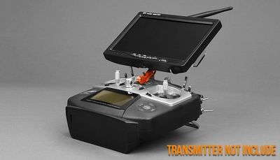 First Person View System with Transmitter, Receiver, and Monitor Only 05P225-FPV-System-No-Camera