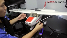 Fixing the flaps on the Airfield Skytrainer