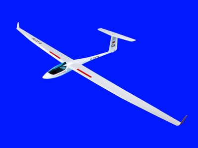 Flying Dream 5~6 Channel ASH-26 2600mm ARF Radio Remote Control RC Glider CMP-ARF-Sailplane-ASH-26