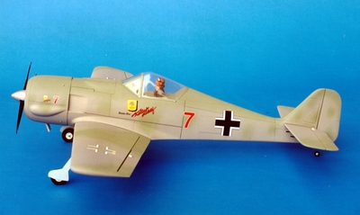 "Focke-Wulf FW 190 - 70"" Butcher Bird 120 Engine Powered Scale Aircraft ARF"