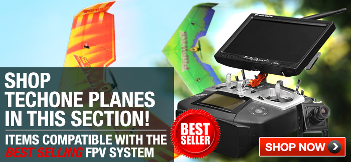 TechOne Airplanes Compatible with Best Selling FPV System Combo