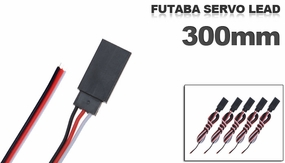 Futaba Servo  lead 300mm (5 pcs)