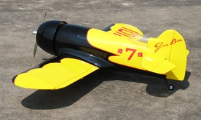 "Gee Bee 25 - 40"" Fuel/Electric  led RC Racer Plane Kit RC Remote Control Radio"