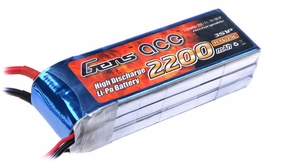Gens ace 2200mah 3S1P 11.1V 25C Lipo battery pack