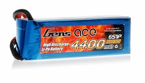 Gens Ace 4400mAh 35C 22.2v Lipo Battery