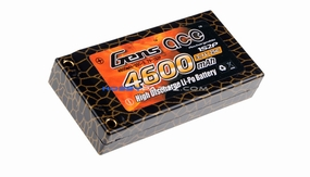 Gens ace 4600mah 1S2P 3.7V 25C hard case Lipo battery