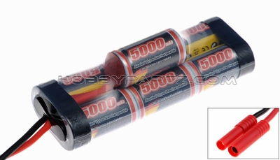 GENS ACE 5000mAh 8.4V NIMH Double Stick Hump
