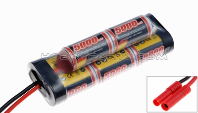 GENS ACE 5000mAh 9.6V NIMH Double Stick Hump