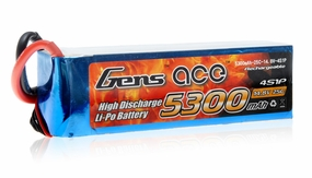 Gens ACE 5300mAh 14.8V 25C Lipo Battery