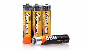 Gens Ace 800mAh 1.2V AAA NIMH 4pcs AAA Rechargeable Battery