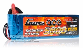 Gens ace LIPO Battery   5000mAh 60-120C 11.1V