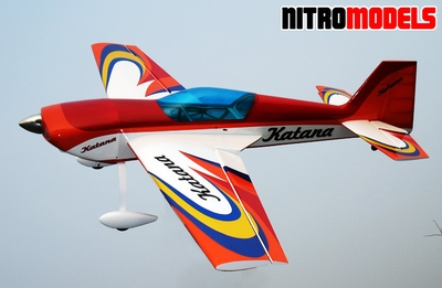 Giant Scale Katana 50CC ARF Nitro Gas  led RC Plane RC Remote Control Radio