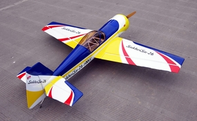 "Giant Scale SU-26 85CC-100CC - 101"" Nitro Gas Radio Remote Control Airplane ARF"