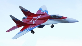 HC- Hobby MiG-29 EDF Electric Twin 55mm Ducted Fans w/ Brushless Motor, ESC & Lipo Battery Ready to Fly RTF Red Version